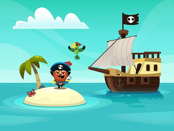 pirate graphic design 3