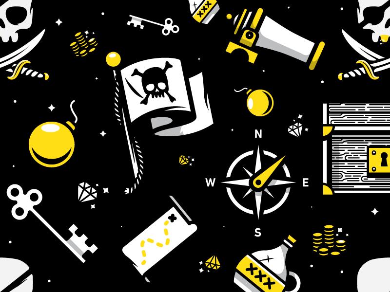 pirate graphic design 4