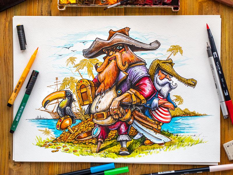 pirate graphic design 6