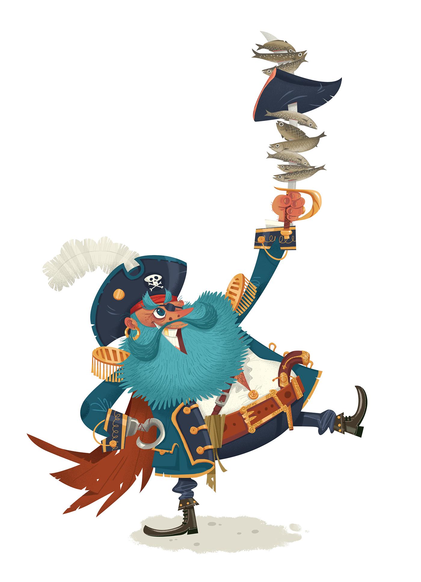 pirate graphic design 7