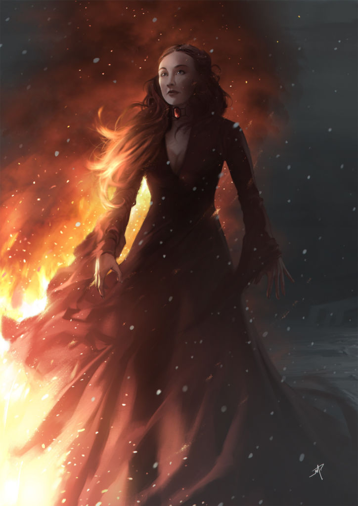 game of thrones character design art