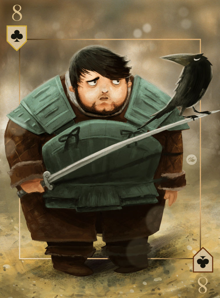 game of thrones design illustration