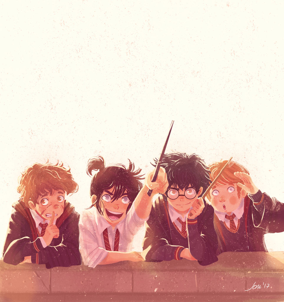 harry-potter-charachters-illustration