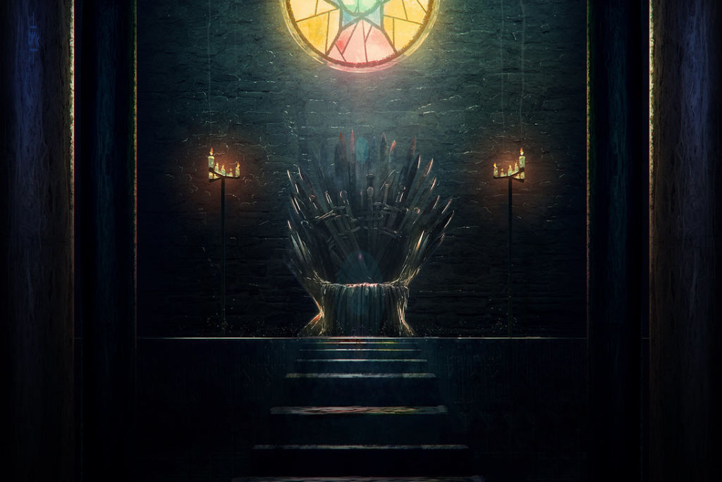 Game of Thrones digital art illustration