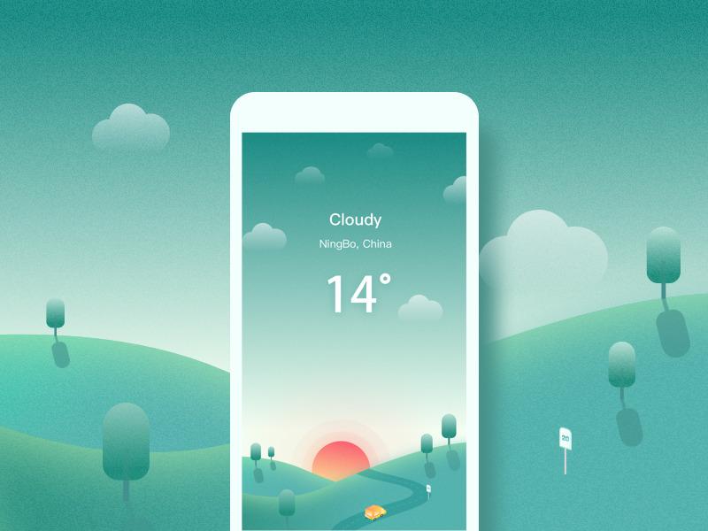 cloudy-weather-app-UI