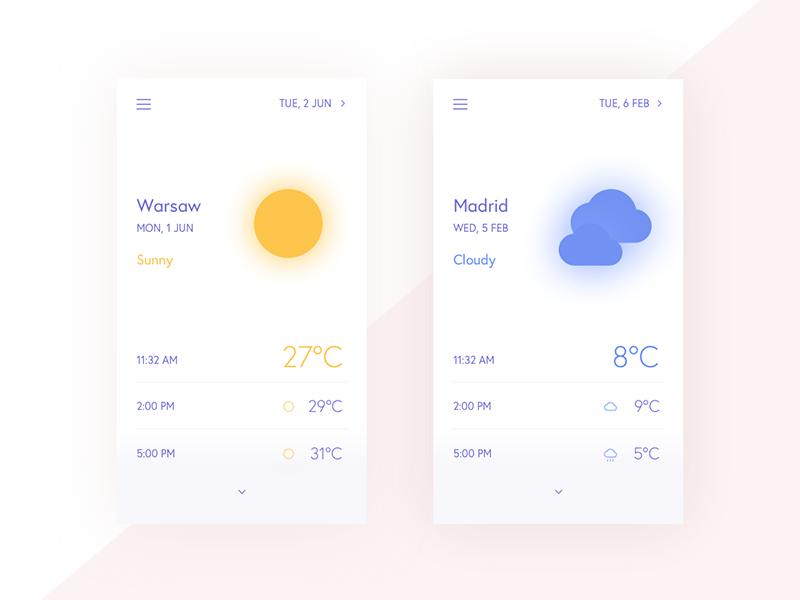 mobile-weather-app-UI