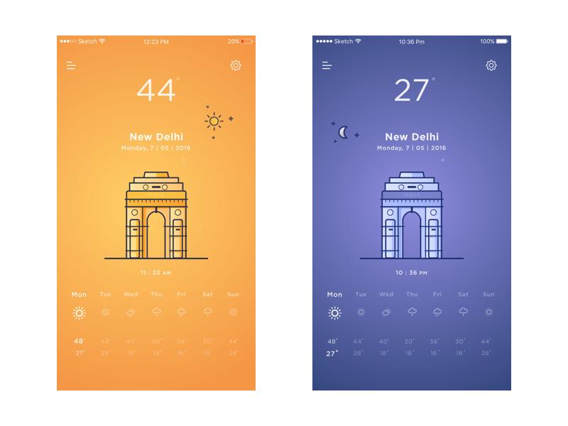 New-Delhi-weather-app