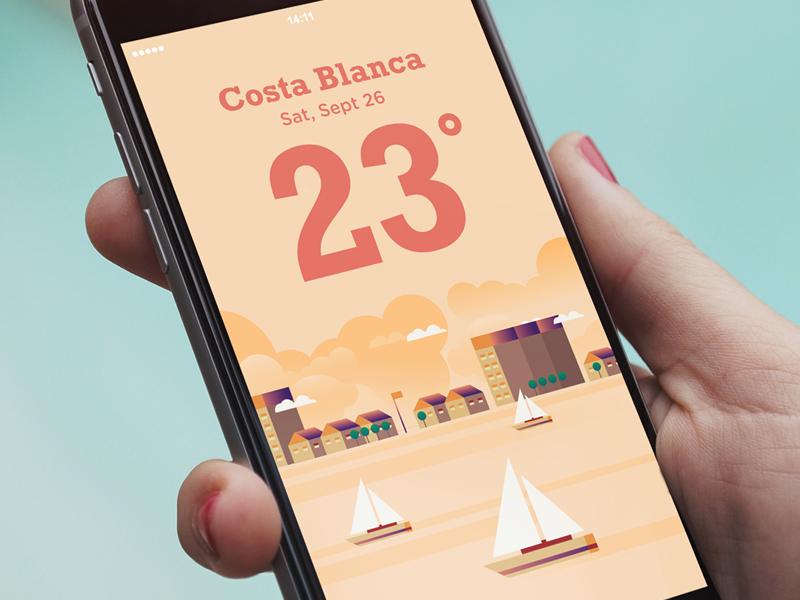 ui design weather app