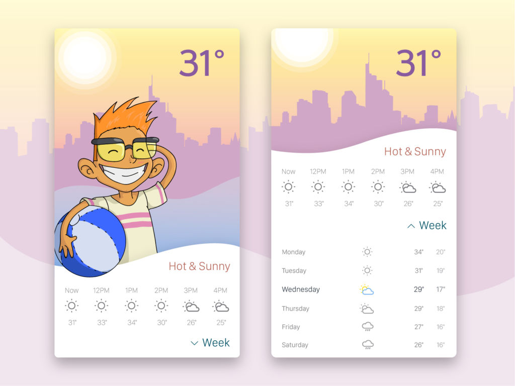 weather-app-ui-design