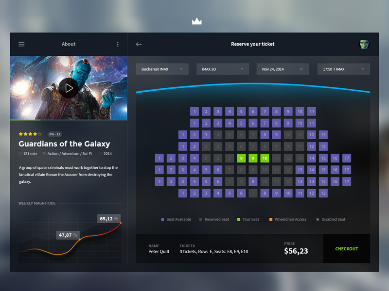 cinema app desktop