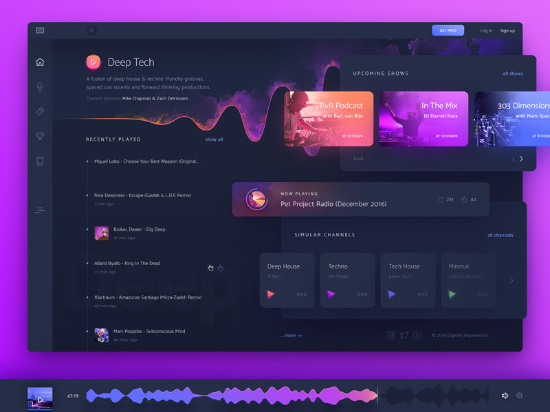 desktop-music-streaming-UI