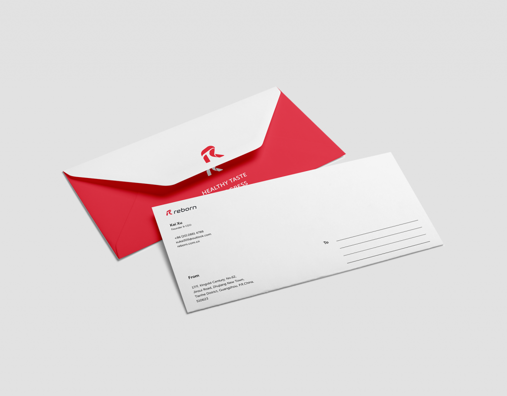 envelope graphic design