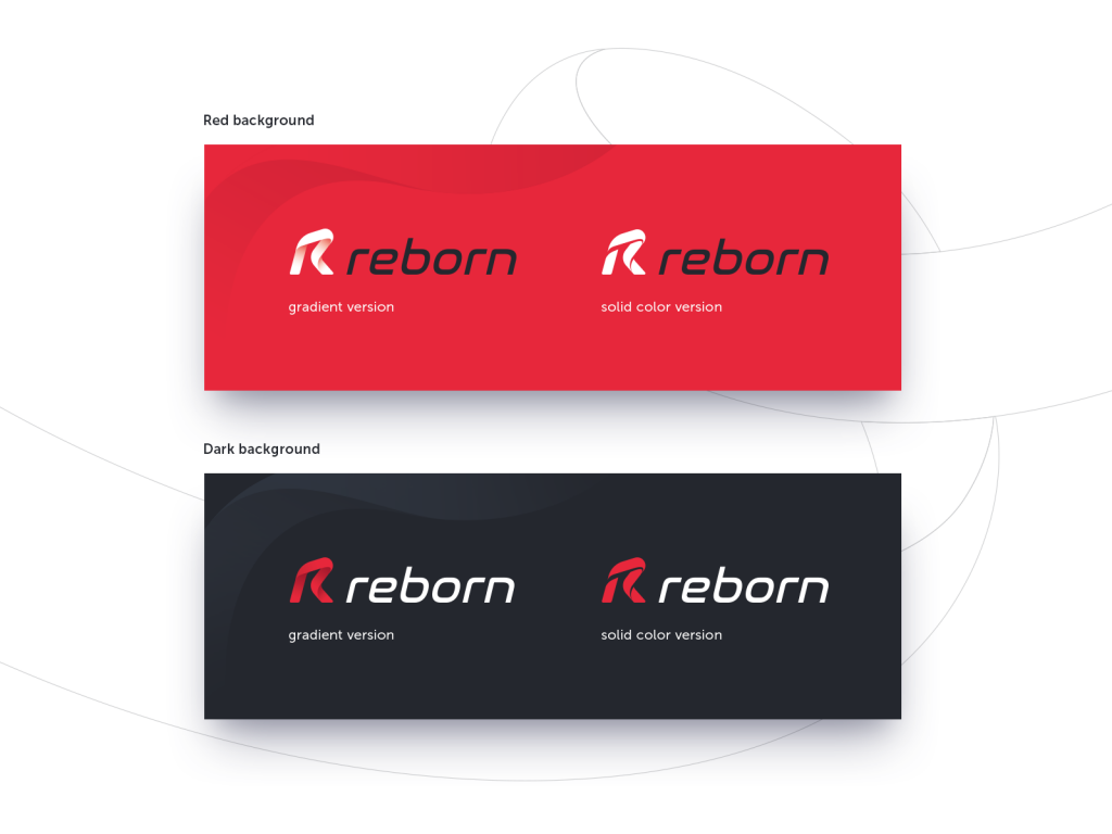 logo design case study color option