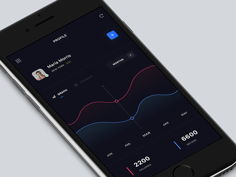 fitness-app-profile-screen-design