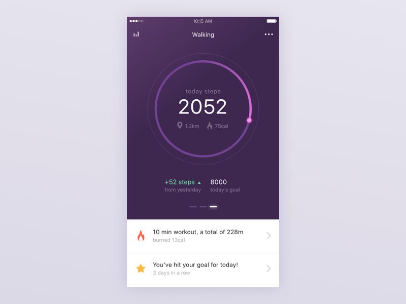 fitness-app-steps-screen