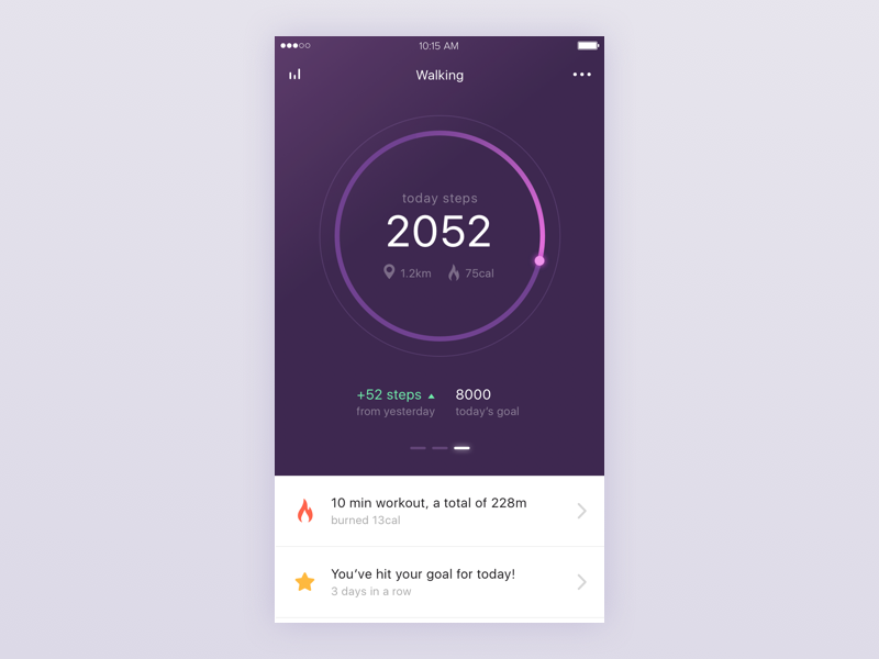 fitness-app-steps-screen