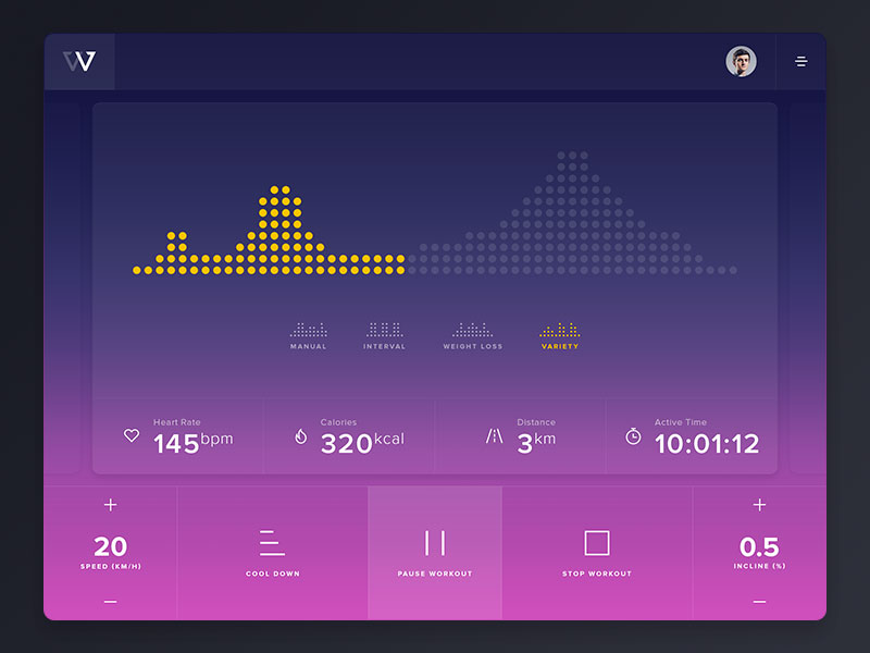 fitness-interface-concept