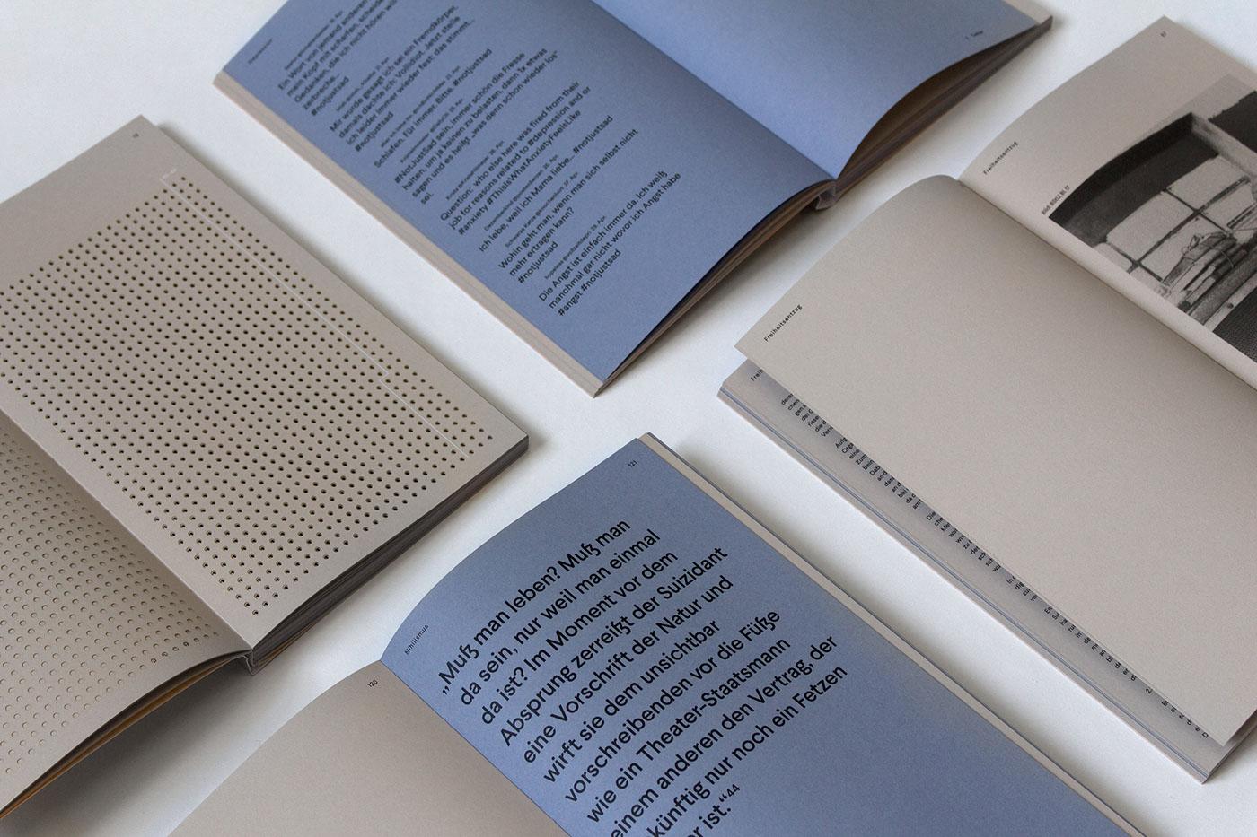 minimalist editorial design