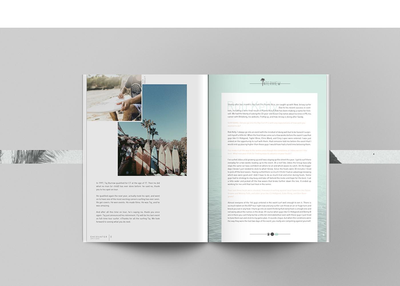 minimalist editorials