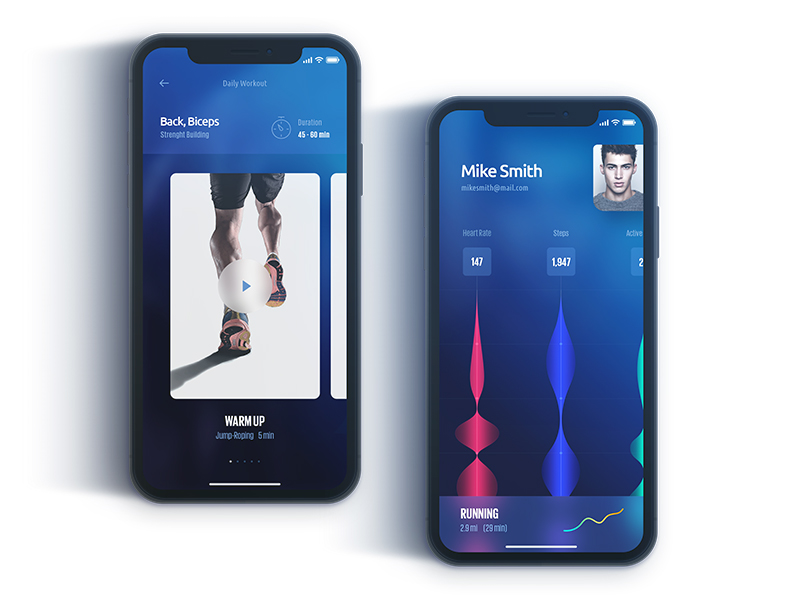 mobile-fitness-application