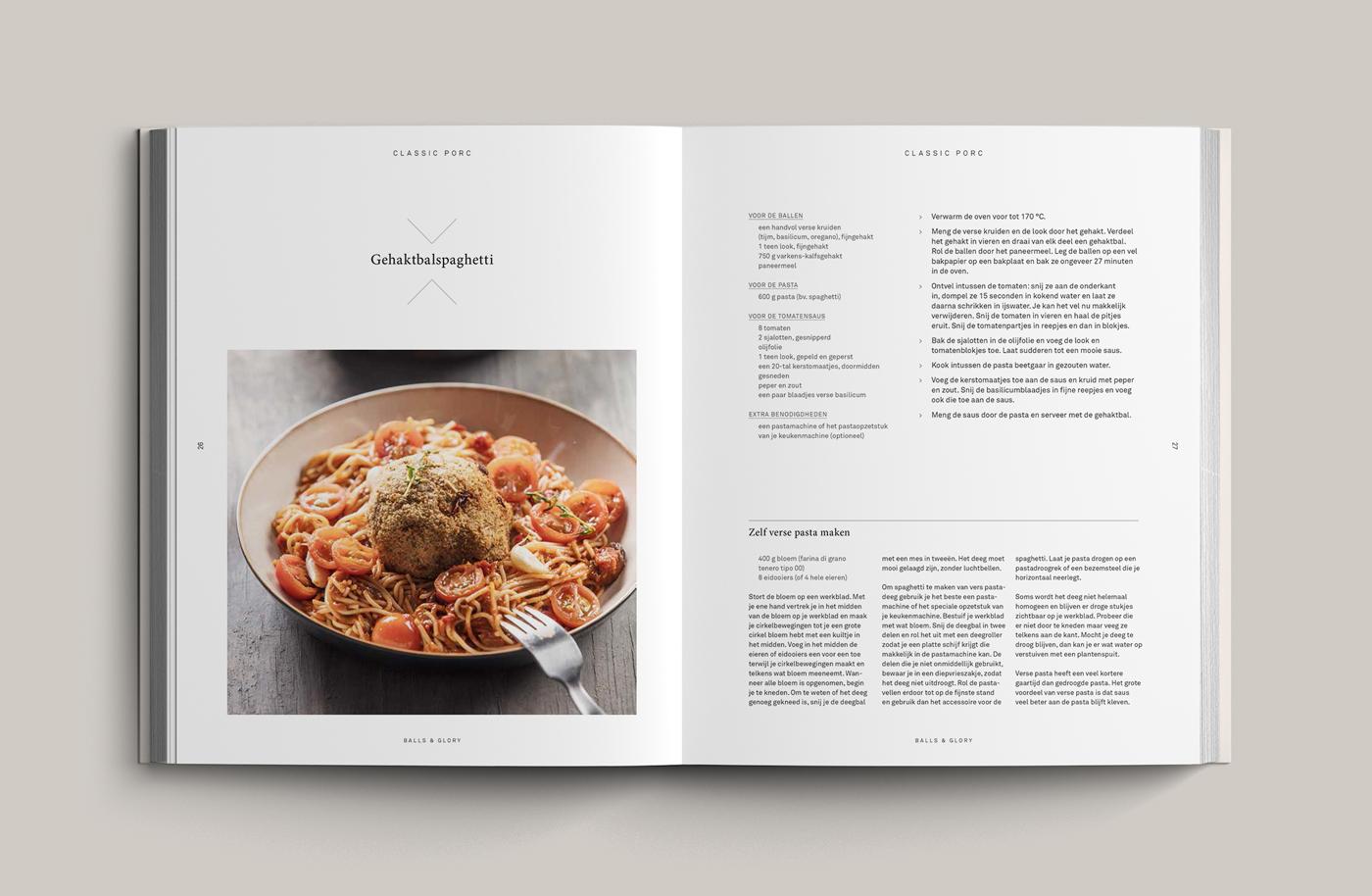 recipe book design
