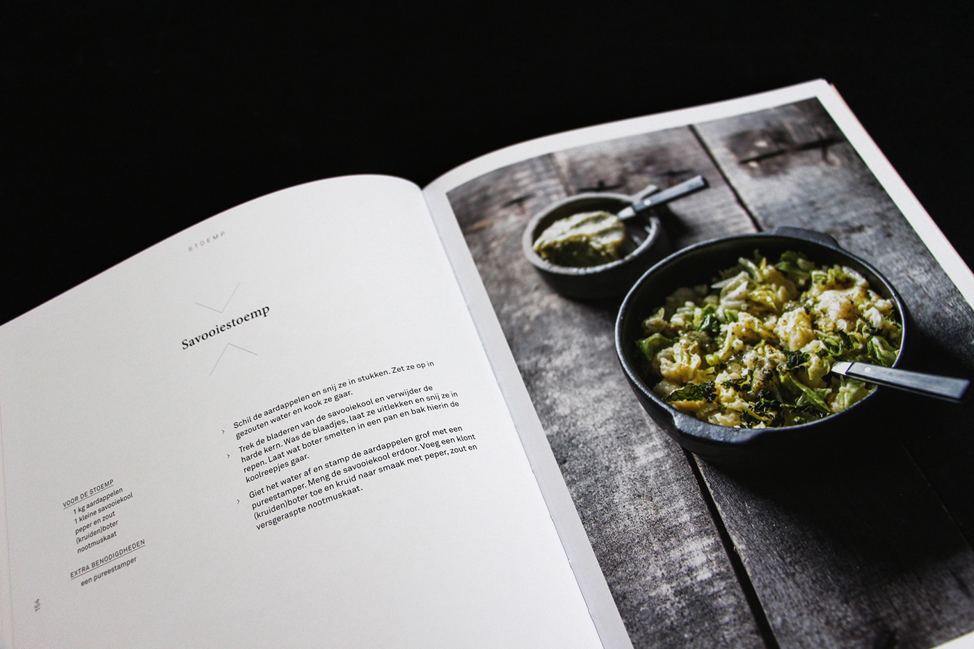 recipe book example design