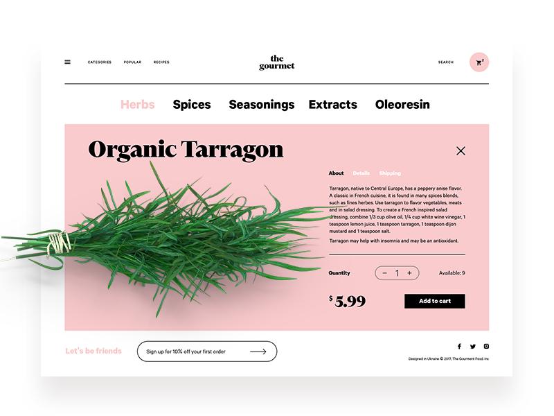 gourmet_web_design_UI_tubik
