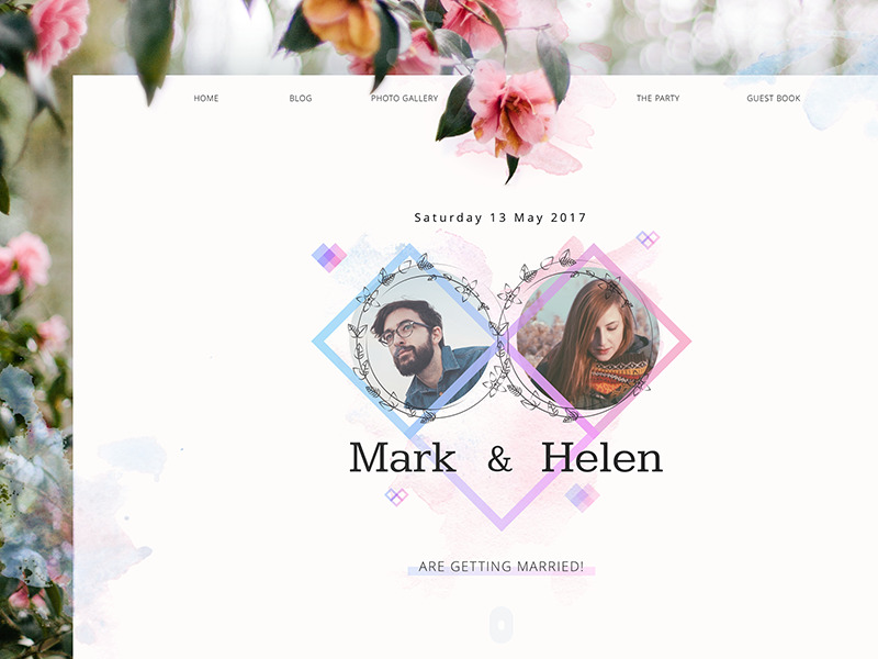 wedding_theme_website_ui_design_tubik
