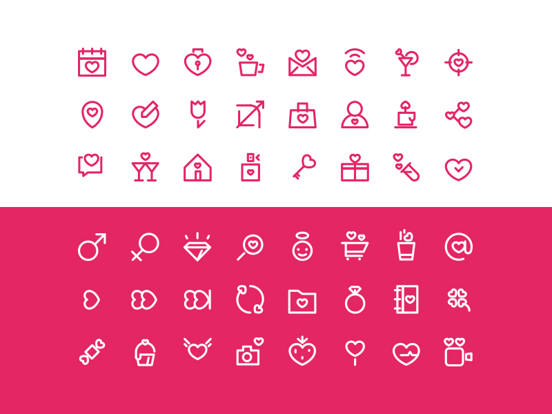 valentine-love-icons