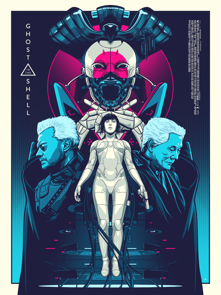 Ghost-in-the-Shell-Poster-design