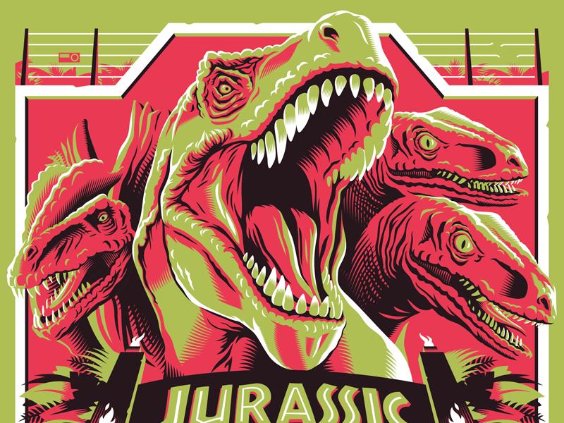 jurassic-park-poster-design