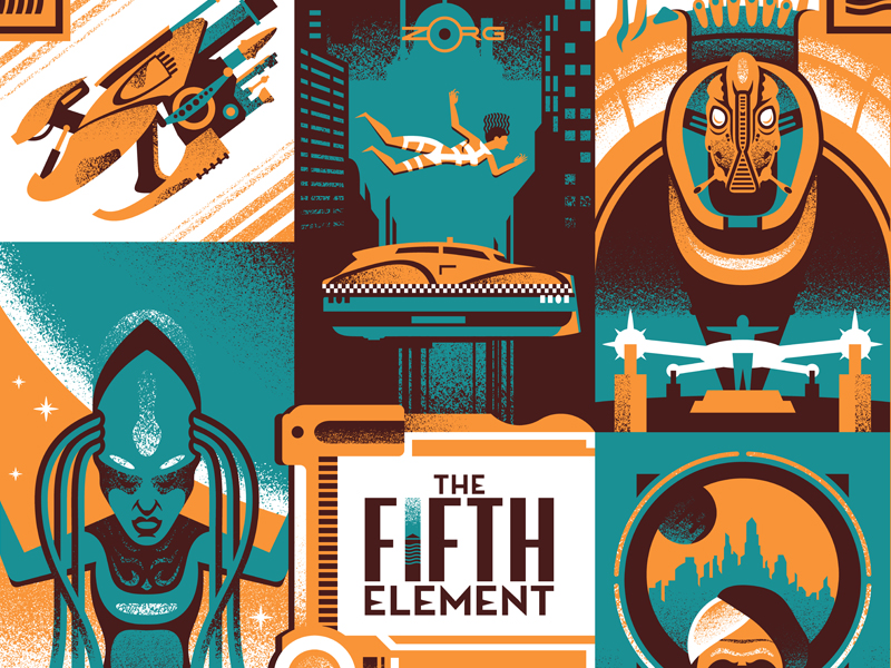 the-fifth-element-poster-design