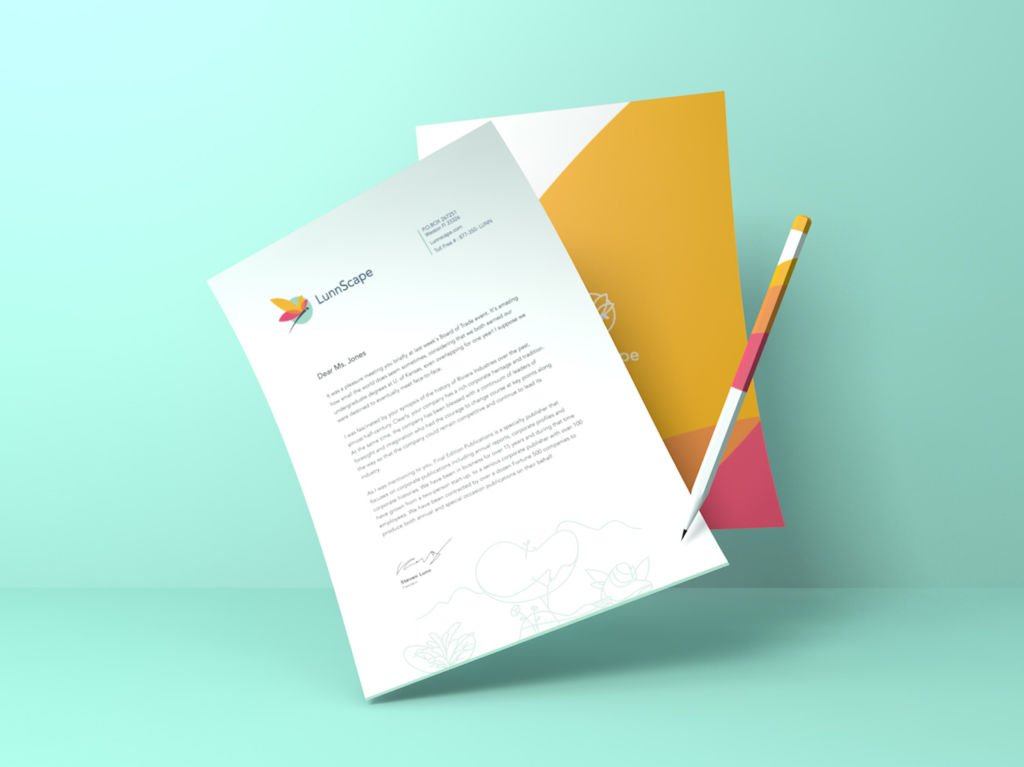 Design Case Study: LunnScape. Identity for a Landscape Company