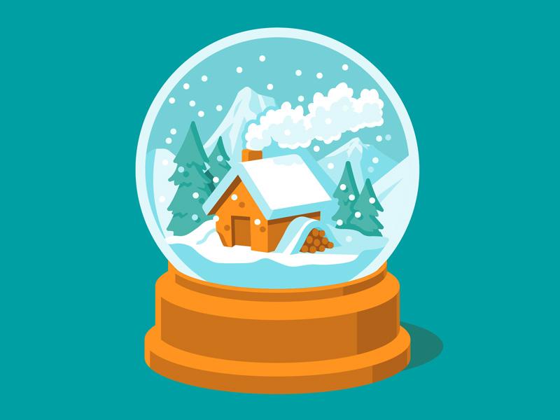 winter christmas illustrations