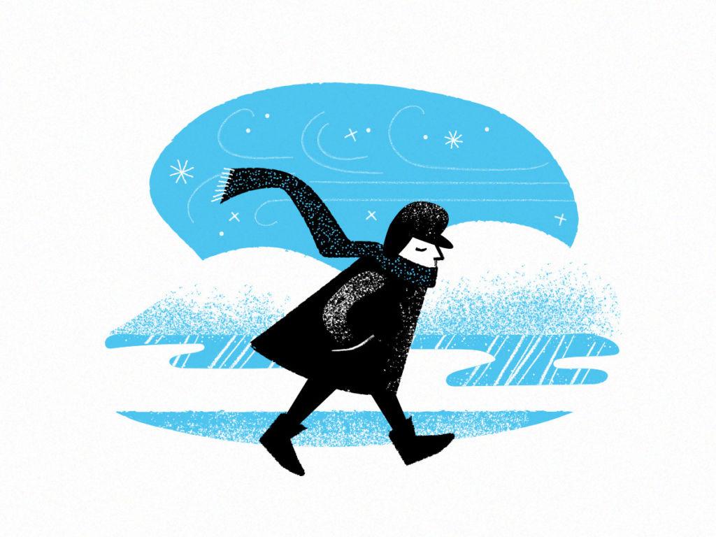 snow winter illustration