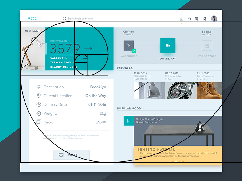 golden ratio for designers