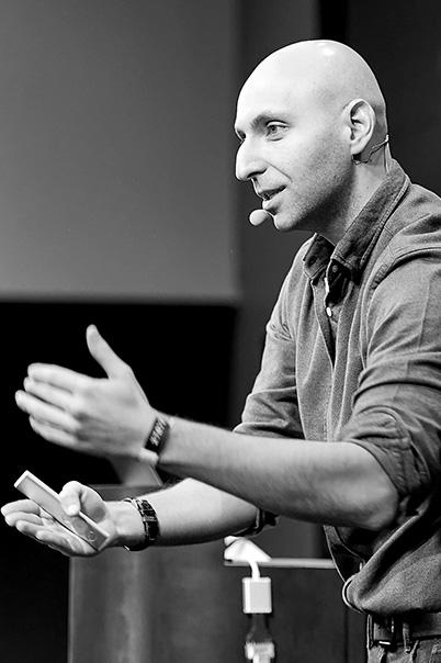 krupa design conference speaker