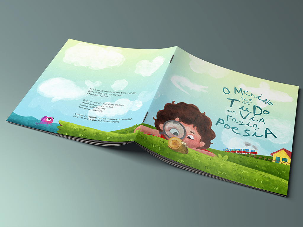 book illustration design