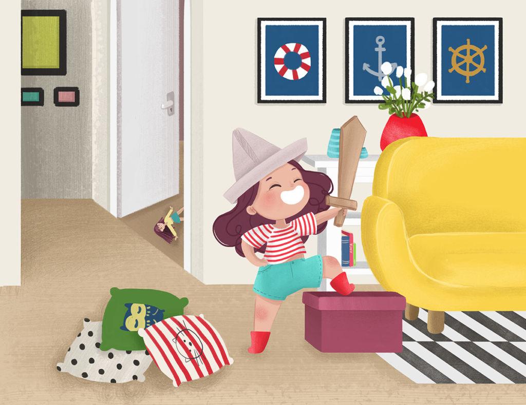 character design digital illustration