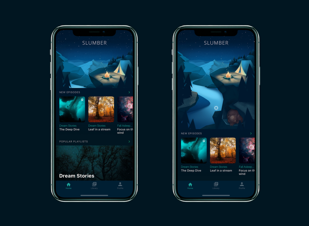 mobile ui design case study