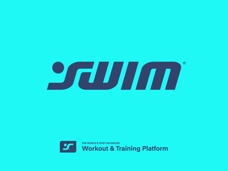 swim logo design