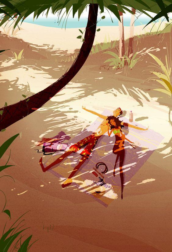 pascal campion summer illustration