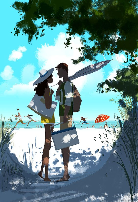 pascal campion summer illustration