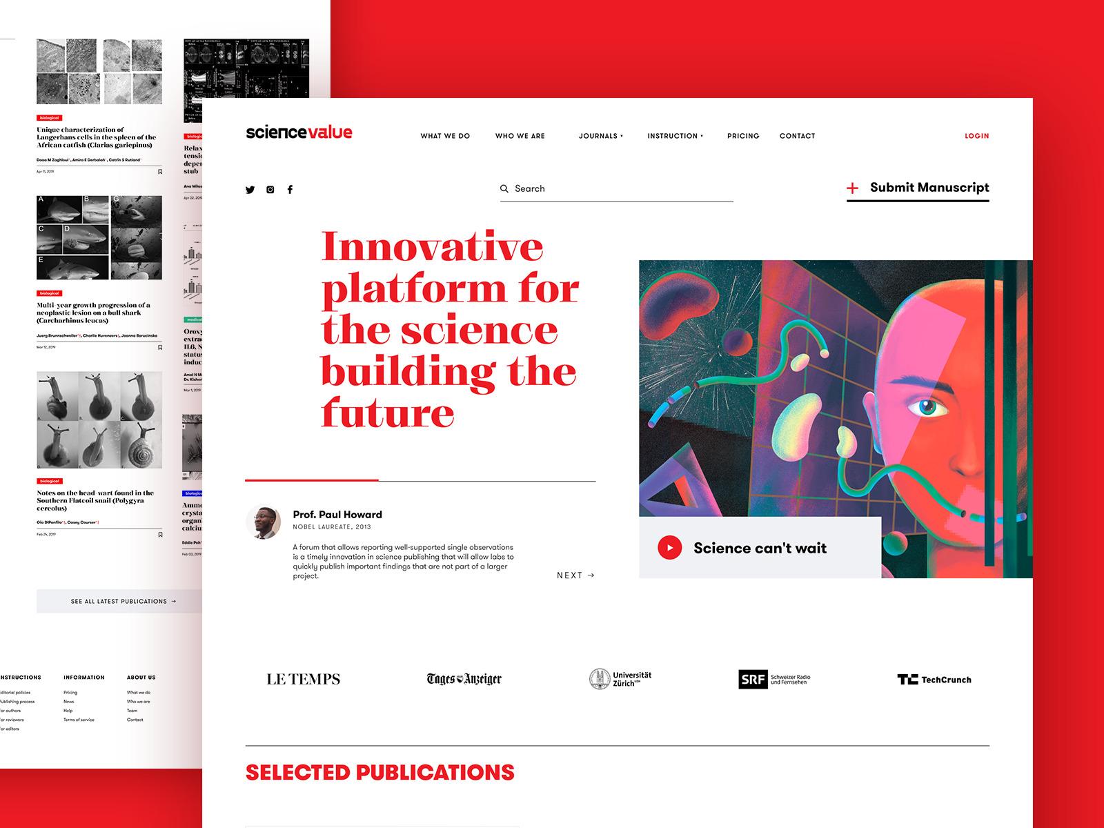 science web platform