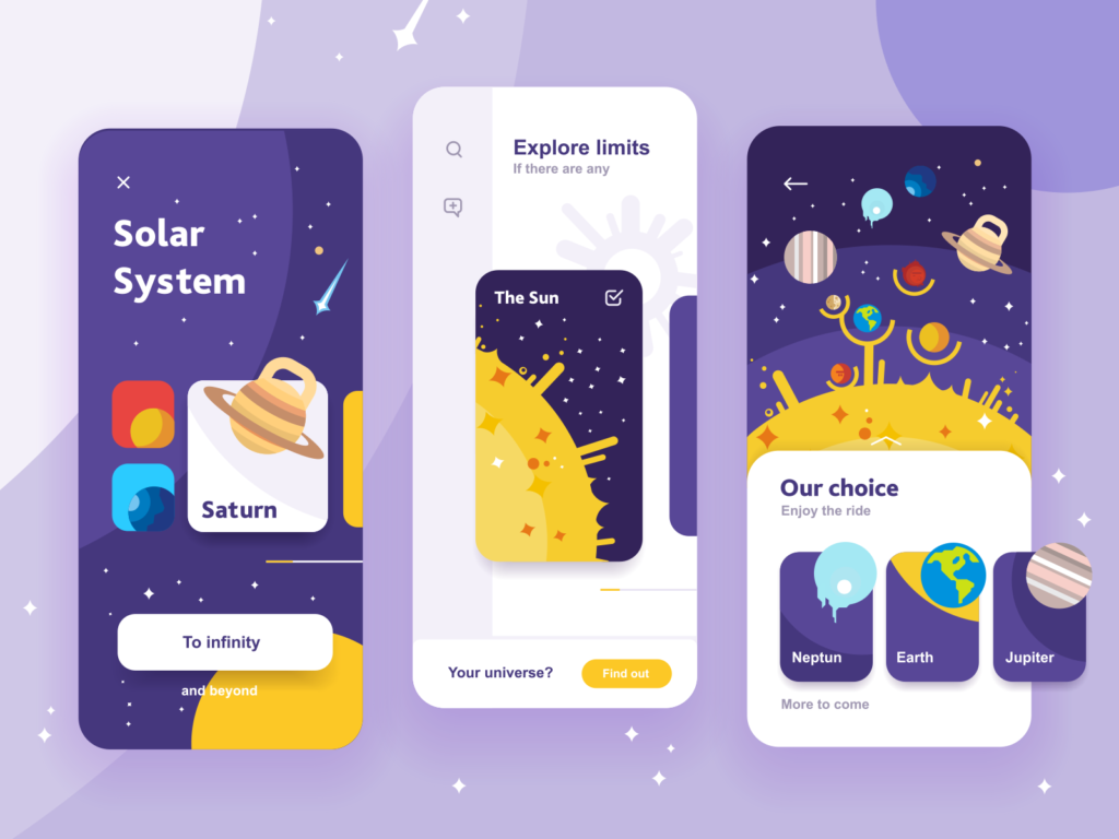 space solar system education