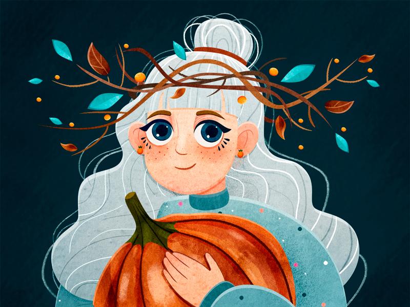 autumn character design