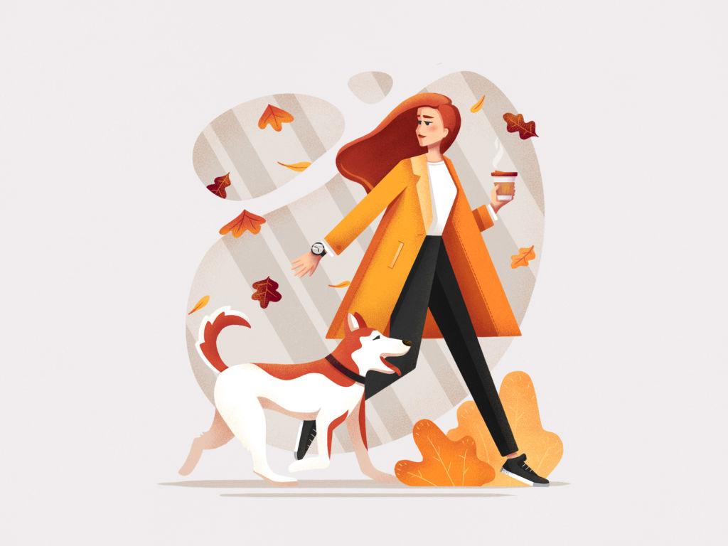 autumn illustration inspiration