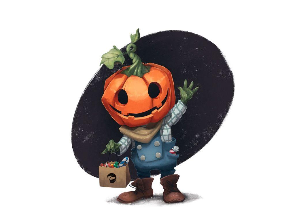 halloween art illustrations