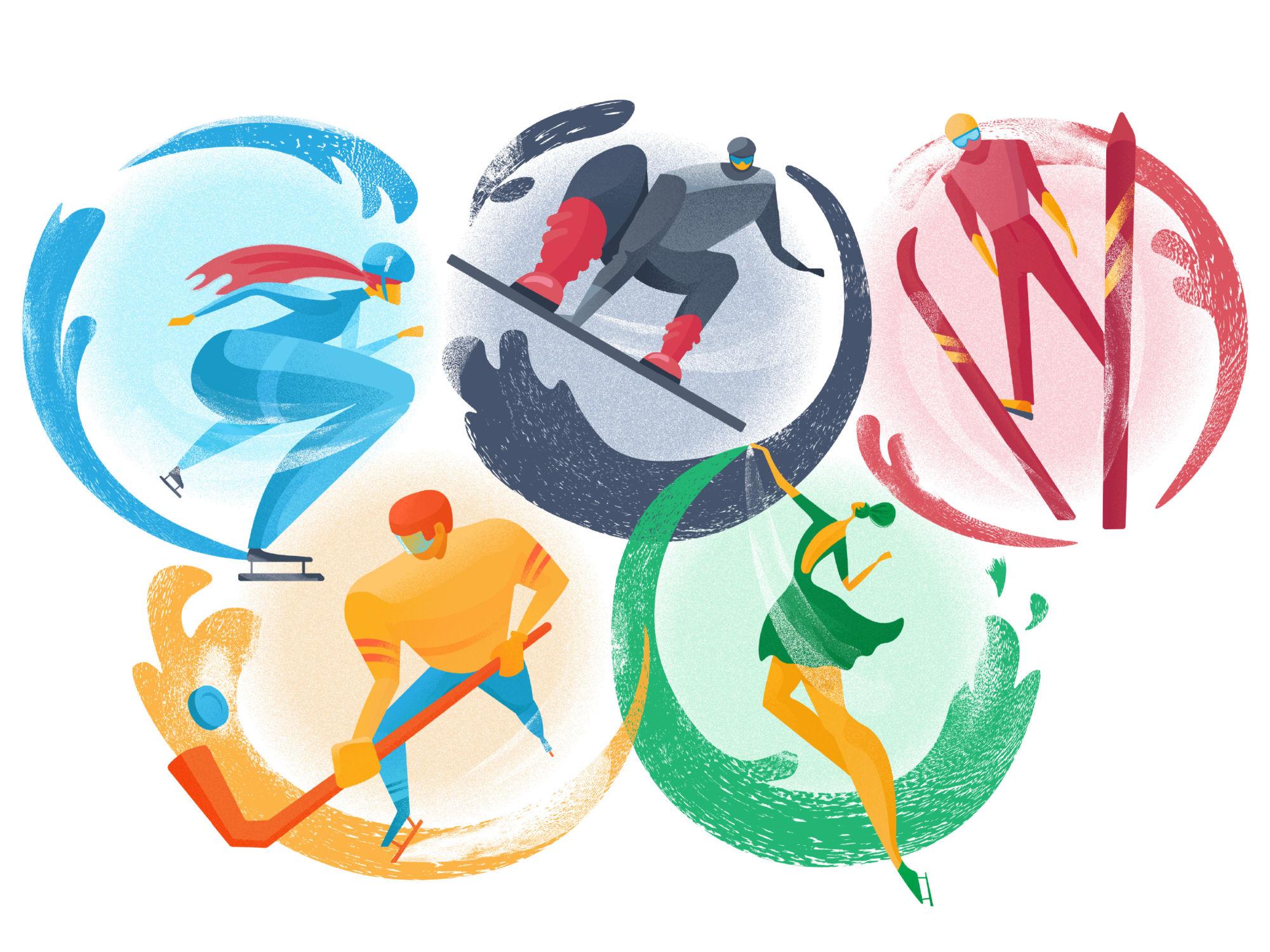 olympic games illustration