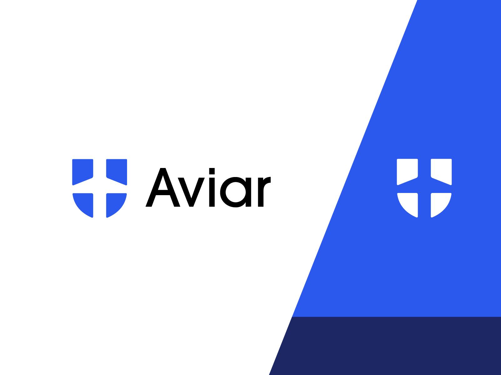 aviar logo design